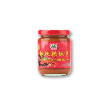 230 g de bocal de verre sauce piment fort