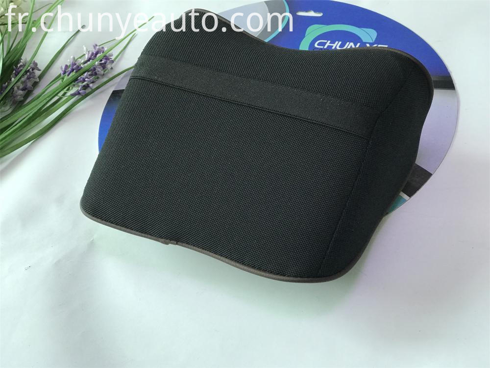 universal leather neck pillow for car