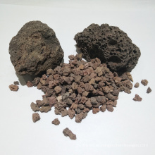 China suministra medios de filtro de roca volcánica natural para tratamiento de agua
