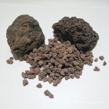 China fornece meios de filtro naturais da rocha vulcânica para o tratamento da água