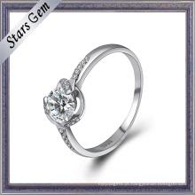Jóia nova do anel de prata do estilo da forma