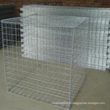 Boîte de Gabion avec treillis métallique soudé galvanisé plongé chaud
