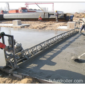 Gasoline Engine concrete vibratory truss screed with 9m screed FZP-90