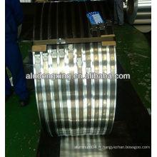 Aluminium 1050 1060 1070 1100 1200 bandes pour produits à profusion alibaba Chine