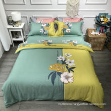 Home Textile Fashion Style Bedding Set Cotton Brushed Fabric Comfortable for Single Bed Duvet Cover