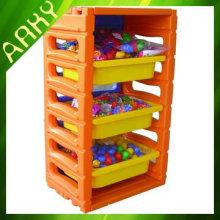 Baby Plastic Toy Shelf