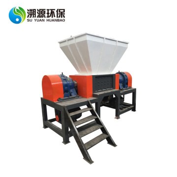 Two Shaft Tires Shredding Shredder Machine
