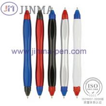 La promoción Plastic 2 en 1 Ball Pen Jm-M009