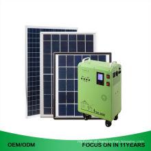 300W Low Cost Lower Off Grade 500W Camp Sistema Solar