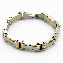 Shenzhen atacado mercado de aço inoxidável diy jóias pulseira