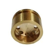 smooth surface no glitch Brass door handle part drilling cnc precision Machining parts Service