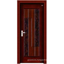 Interior Steel Wooden Door (LTG-105)