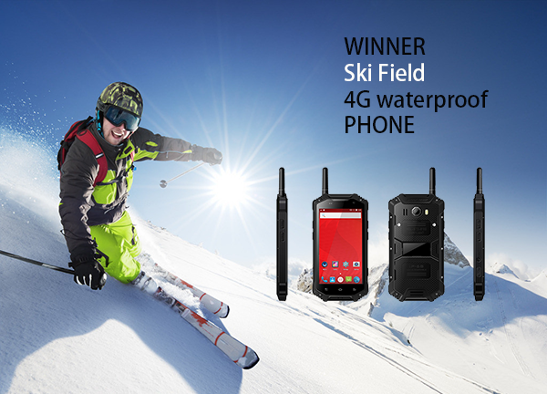 WINNER Ski Field 4G waterproof PHONE