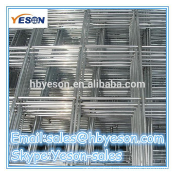 Paneles de malla de alambre soldado ISO9001 / paneles de alambre soldados de alambre