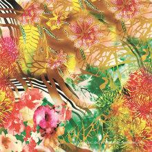 Digitaler Textildruck auf Seidenstoffen (TLD-0088)
