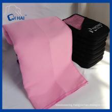 Microfiber Suede Travel Towel (QHS55909)