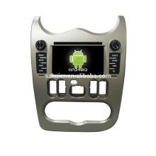 android 6.0-Dvd lecteur pour voiture1024 * 600 android lecteur dvd de voiture pour Renault Logan + OEM + quad core!