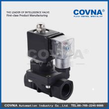 Ampliamente utilizado en la válvula de solenoide industrial industrial del PVC