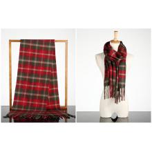 Art- und Weisequalitäts-Plaidmuster-Schal für Männer