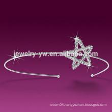 white star headband for women
