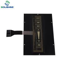 Interrupteur à membrane tactile en acrylique PMMA de 2 mm sur le panneau avant