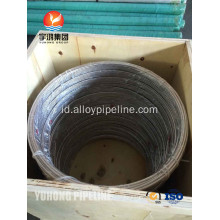 Stainless Steel Coil tabung ASTM A269 TP316L