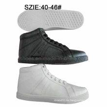 Zapatillas bajas del patín de las inyecciones de los hombres de la moda del bajo precio (MP16721-4)