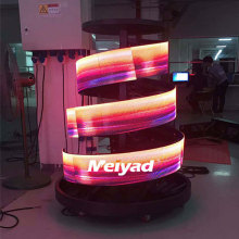 Гибкий внутренний P2.5 RGB SMD светодиод