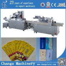 Sjb-250A Series Personalizado Automático Toalhetes úmidos Tissues Máquinas De Embalagem Fabricantes