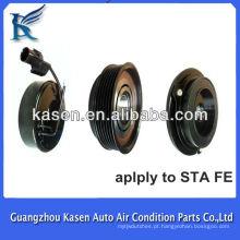 Embreagem do compressor do scc rs18 embreagem magnética 12v 6pk para o auto ac