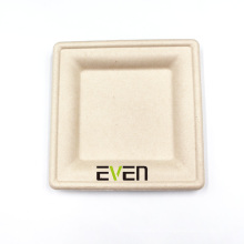 Microwave Biodegradable Disposable Party Use Dinnerware Square Plates