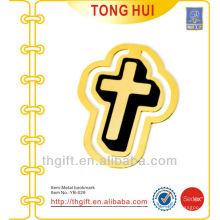 Kirche Kreuz Form Metall Lesezeichen / Gold Metall Lesezeichen für Bücher