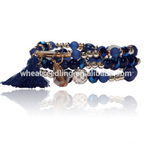 new products accessories mixed style fashion 2016 crystal natural stone bracelet