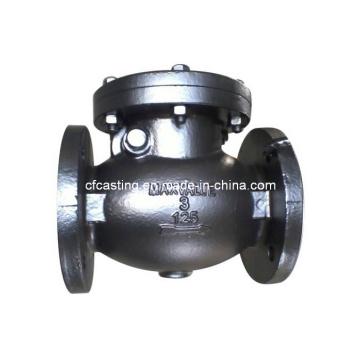 Válvula de fundición de arena de acero inoxidable ASTM / DIN