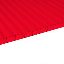 Multiwall Sheets Fabricant une qualité 50 Micor UV 10 ans de garantie (OEM)