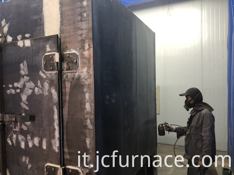 Box type aging furnace Spray paint