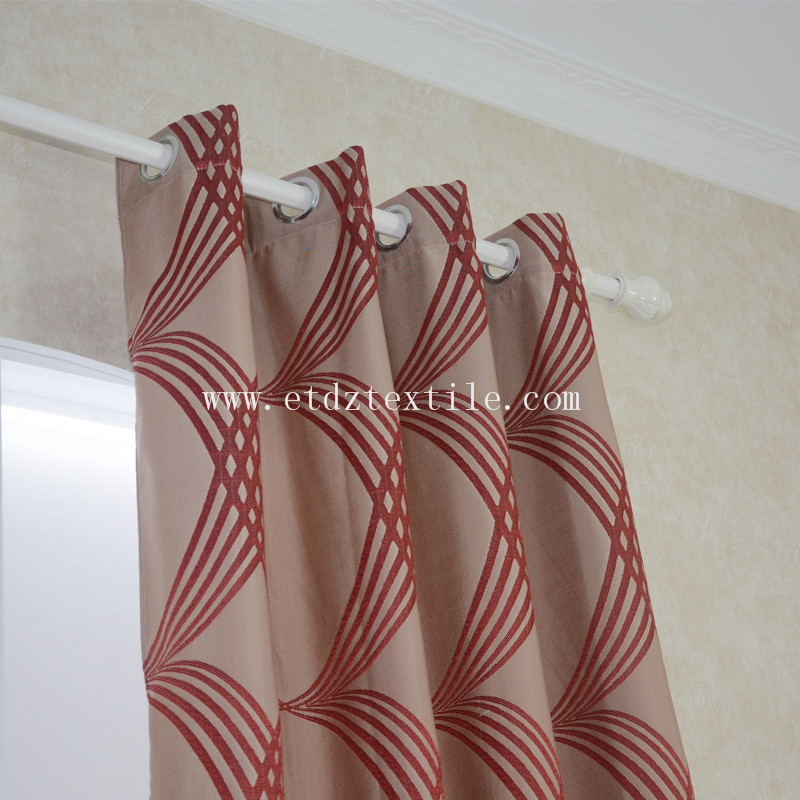Popular Color Modern Simple Design of Curtain