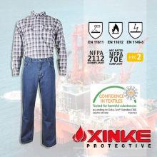 Pyrovatex tratou de roupas FR para roupas de trabalho