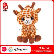 China Wholeslaer Soft Animal Stuffed Giraffe Toy