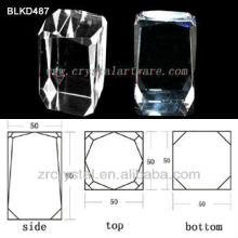K9 de cristal para BLKD487 de grabado del laser 3d