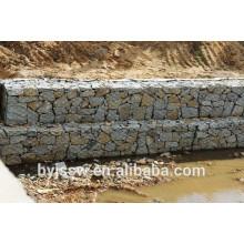 Mur de soutènement de Gabion et prix de matelas de Gabion avec la machine de maille de Gabion