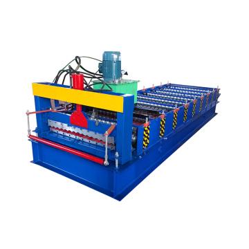 XN850 galvanized steel sheet corrugated press roll forming machine