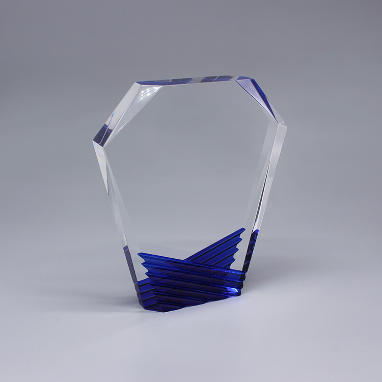 Personalized Art Glass Awards Trophies