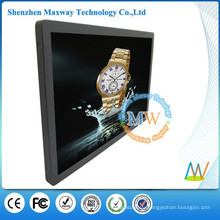 Wall mounting 5:4 Android OS 19 inch bus LCD ad