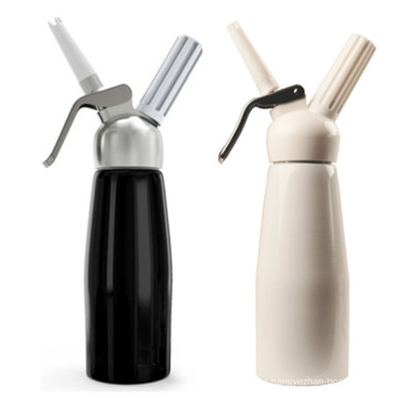 Wholesale Dessert Tools 250ML With Plastic Top Whipped Cream Dispensing