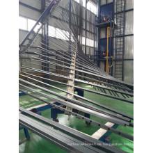 6 Meter langes PVC-beschichtetes Stahlrohr als Zaunmaterial