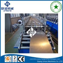 Heavy duty metal shelf rack roll forming machine