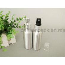 100ml Aluminium Parfüm Spray Flasche mit Sprühpumpe (PPC-ACB-061)