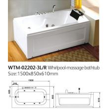 Kleine Whirlpool-Massage-Badewanne Einzel-Personen-Badewanne