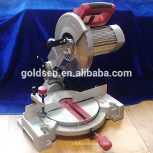 255mm 1800w Low Noise Electric Power Aluminum Wood Cutting Cut Off Table Circular Machine Tools Silent Compound Miter Saw